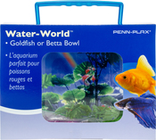 Penn-Plax Water-World Goldfish Or Betta Bowl