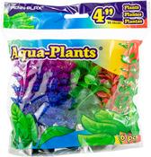 "Multi-Colored - Penn-Plax Aqua-Plants 4"" 6/Pkg"