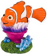 "Nemo On Anemone 4"" - Disney Pixar Finding Nemo Aquarium Ornament"