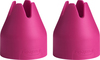 Fuchsia Small - Decorating Bag Couplers 2/Pkg These couplers adapt the Trudeau silicone bag to work with most standard and medium metal tips. They feature the Quick system which makes changing tips easier and faster than ever. Dishwasher safe. This 2.75x7 inch package contains two small decorating bag couplers. Imported.