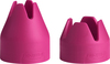 Fuchsia, 1 Small & 1 Medium - Decorating Bag Couplers 2/Pkg These couplers adapt the Trudeau silicone bag to work with most standard and medium metal tips. They feature the Quick system which makes changing tips easier and faster than ever. Dishwasher safe.This 2.75x7 inch package contains one small and one medium decorating bag coupler. Imported.