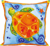 Turtle Journey (17.5 X17.5 ) - Diamond Dotz Diamond Embroidery Pillow Facet Art Kit Quick, easy and fun to do! Just use the Diamond Dotz Stylus to pick up a dot and place it onto the matching square on the sticky print. This package contains one piece of high quality color printed fabric, Diamond Dotz, one stylus, one craft tray, one wax caddy and multi-lingual instructions. Design: Turtle Journey. Design Size: 17.5x17.5 inches. Imported.