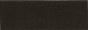 """Dark Brown - Products From Abroad 100% Cotton Twill Tape 1.125""""X55yd"""