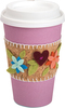 Coffee Cup Sleeve - Sizzix Thinlits Dies By Katelyn Lizardi A Bigz die cleanly cuts thick materials including cardstock, chipboard, fabric, foam, magnets, leather, metallic foils, paper and much more! Its wider size offers you more design options. Die measures 6x8.75x.625 inches. For use with the Sizzix BIGkick, Big Shot and Vagabond machines (not included). Design: Coffee Cup Sleeve. Approximate die-cut size: between .625x.25 inches and 4.5x2.375 inches. Designer: Katelyn Lizardi. Imported.