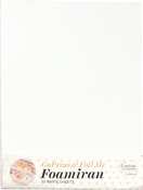 White - Couture Creations Foamiran Flower Making Sheets 10/Pkg
