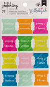 Chapters - American Crafts Bible Journaling Sticker Tabs
