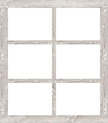 "14""X16"" White - Jillibean Soup Mix The Media Window Frame"
