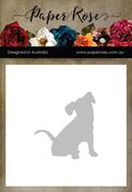 Sitting Dog - Paper Rose Dies