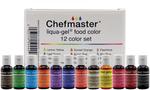 Liqua-Gel Color Kit 12/Pkg .7oz