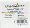 Liqua-Gel Color Kit 6/Pkg .7oz