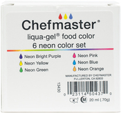 Liqua-Gel Color Kit 6/Pkg .7oz