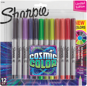 Sharpie Cosmic Color Ultra Fine Point Markers 12/Pkg