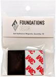 Foundations Decor Self-Adhesive Magnets 10/Pkg