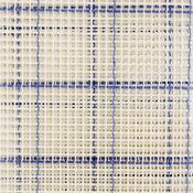 """60""""X10yd Blue Checked - Zweigart Rug Canvas 60""""X10yd Roll 3.75 Mesh"""