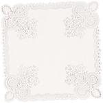 "10.5"" Square White 20/Pkg - Paper Doilies"
