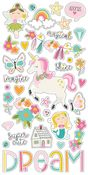 Chipboard Stickers - Dream Big - Simple Stories