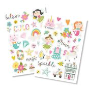Dream Big Puffy Stickers - Dream Big - Simple Stories - PRE ORDER