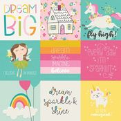 4x4 Elements Paper - Dream Big - Simple Stories