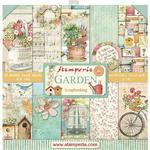 Garden 12x12 Paper Pad - Stamperia