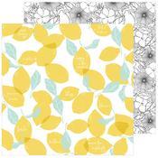 Lemon Lush Paper - Simple & Sweet - Pinkfresh