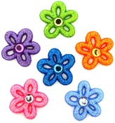 Fairy Dust Flowers - Dress It Up Embellishments