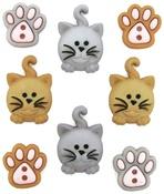 Happy Kitties - Dress It Up Embellishments