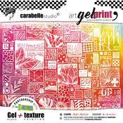 Carabelle Studio Gel Plate & Rubber Texture Plate Kit
