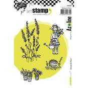Zinouk Flowers Carabelle Studio Cling Stamp A6 By Azoline