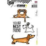 My Dog, My Best Friend Carabelle Studio Cling Stamp A6 By Alexi - PRE ORDER