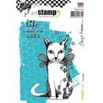 Cat Angel Carabelle Studio Cling Stamp A6 By Birgit Koopsen