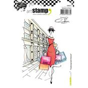 Faubourg Saint Honore Carabelle Studio Cling Stamp A6