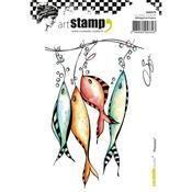 Fishes Carabelle Studio Cling Stamp A6 - PRE ORDER