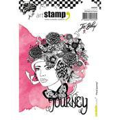 Floral Journey Carabelle Studio Cling Stamp A6