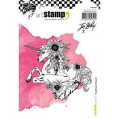 Sunflower Dreams Carabelle Studio Cling Stamp A6