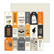 Lets Party Paper - Spooky Boo - Pebbles