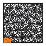 Black Glitter Die Cut Paper - Spooky Boo - Pebbles
