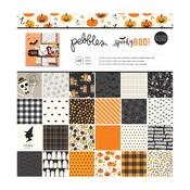 Spooky Boo 12 x 12 Paper Pad - Pebbles
