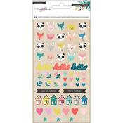 Icons Maggie Holmes Willow Lane Puffy Stickers