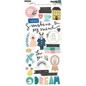 Maggie Holmes Willow Lane Cardstock Stickers