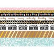 Amy Tan Shine On Washi Tape Rolls