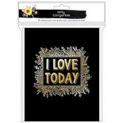 I Love Today Notepad Book - Amy Tangerine