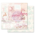 Pretty Little Christmas Paper - Santa Baby - Prima
