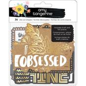 Ephemera Die-Cuts - Shine On - Amy Tangerine