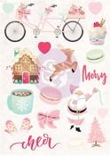 Santa Baby Puffy Stickers - Prima - PRE ORDER