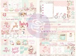 Santa Baby Word Quote Stickers - Prima