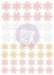 Santa Baby Glitter Stickers - Snowflakes - Prima