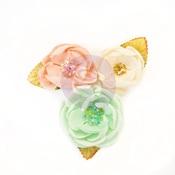 Santa Baby Flowers - Cotton Candy Christmas - Prima