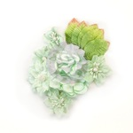 Santa Baby Flowers - Frosted Mint - Prima