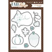 Fall Breeze Photoplay Etched Die
