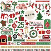 Sticker Sheet - Here Comes Santa - Photoplay
